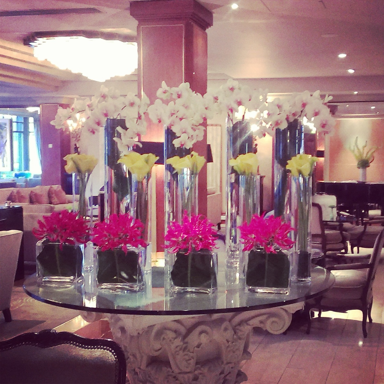 Flower arrangement in The Westbury